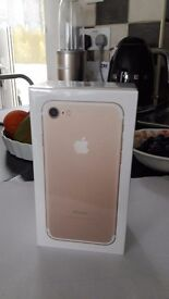 Hi ahave brand new iphone7 128gb gold unlocked