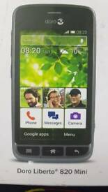 Doro liberto 820 mini smart phone easy mobile phone