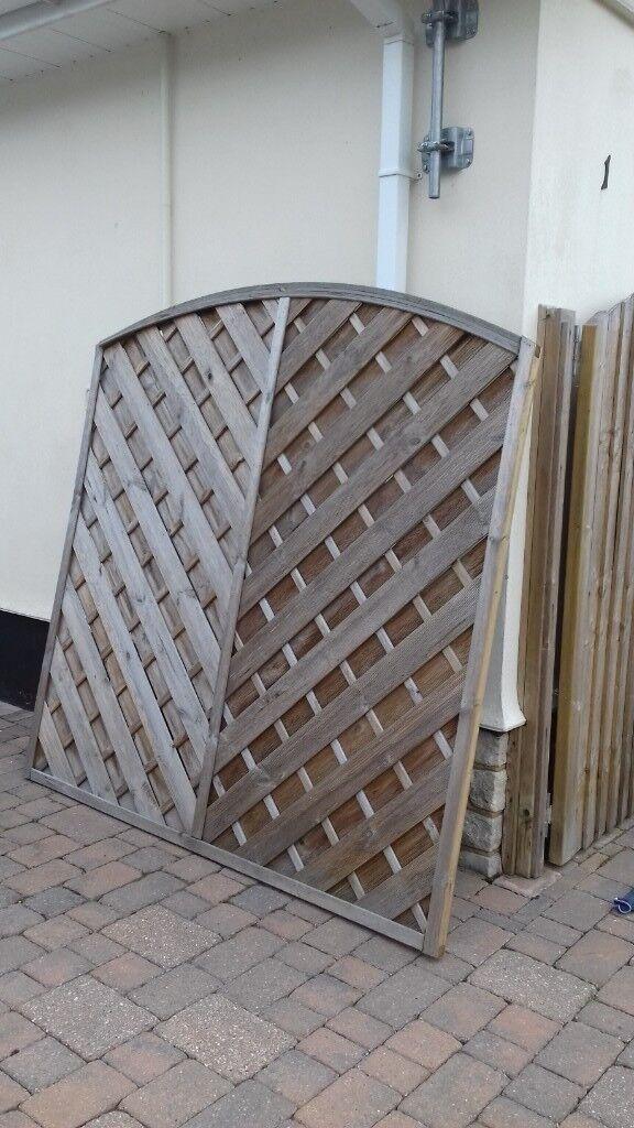 4 Decorative fence panels | in Verwood, Dorset | Gumtree