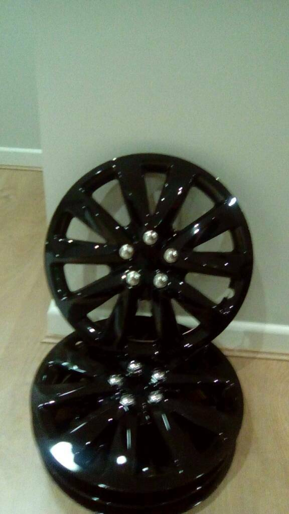 "14"" black wheel trims"