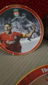 Liverpool F.C collectable plates
