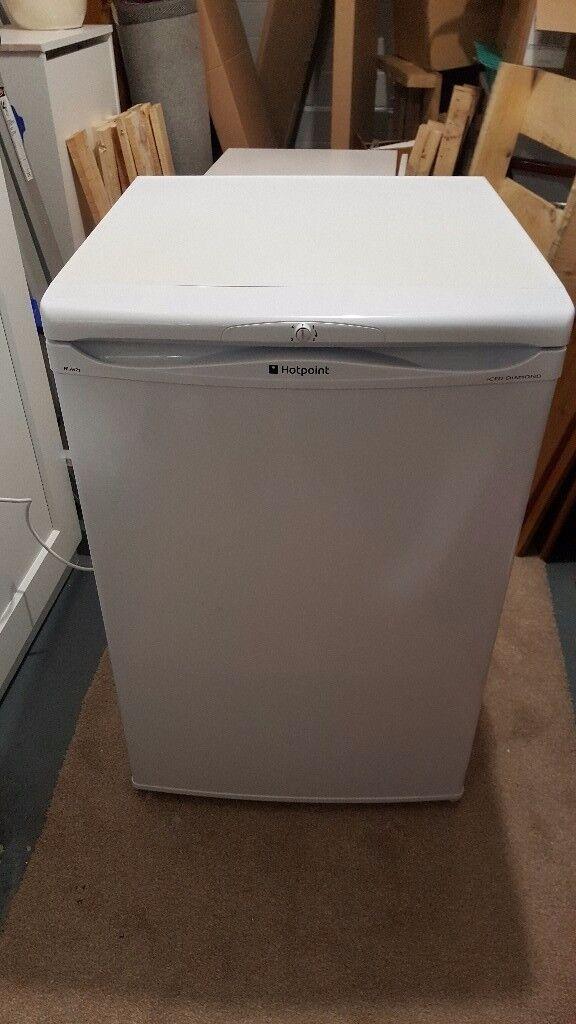 For sale White Hotpoint Ice diamond fridge