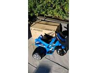 Brand new electric toddler bike