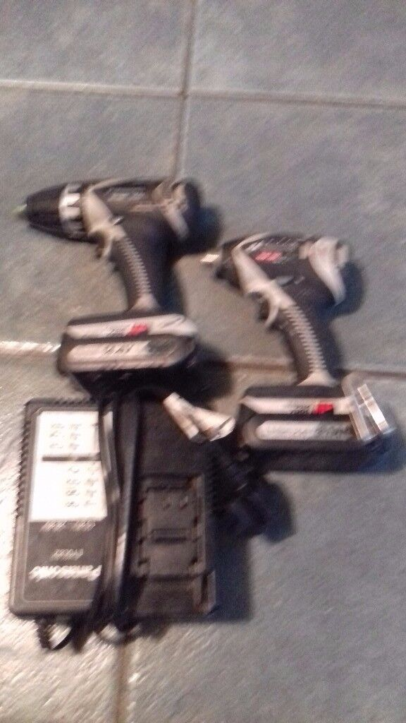 Panasonic impact drill and driver