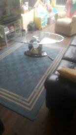 Glass/Marble Coffee table