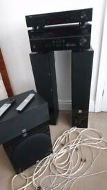 Yamaha RX V679 amplifier and Dali Speakers, Subwoofer and Yamaha CDN301 cd player