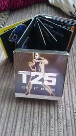 T25 fitness DVD with Sean T