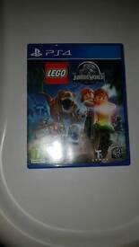 Jurassic world lego PS4