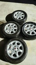 4 Rover Alloy Wheels