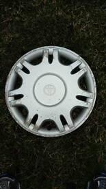 Toyota wheel trim. Single