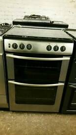 Belling 60cm silver gas cooker