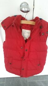 Boys Fat Face gilet. Age 8 -9