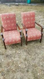 3 Antiques Chairs