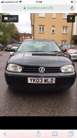 VW Golf GTI 2.0 Petrol manual good condition £600