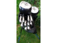 Full set of Golf Clubs and extras.