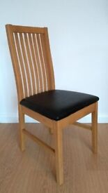 Pair of Argos Home dining chairs - new, still in packaging
