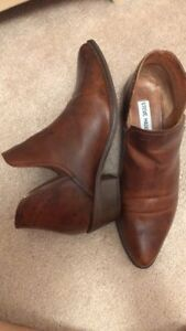 Brown Steve Madden ankle boots