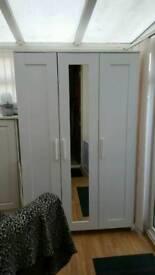 Brimnes 3 door Ikea wardrobe