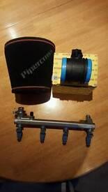Astra VXR injectors, 8Omm MAF, 80mm pipercross air filter