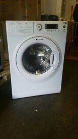 9kg Hotpoint WMUD9627P Ultima 1600rpm Washing Machine - Polar White