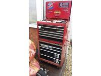large mechanics tool box 5 drawer cab 12 drawer top box free timing tool kit