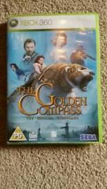 X box 360 Golden compass game