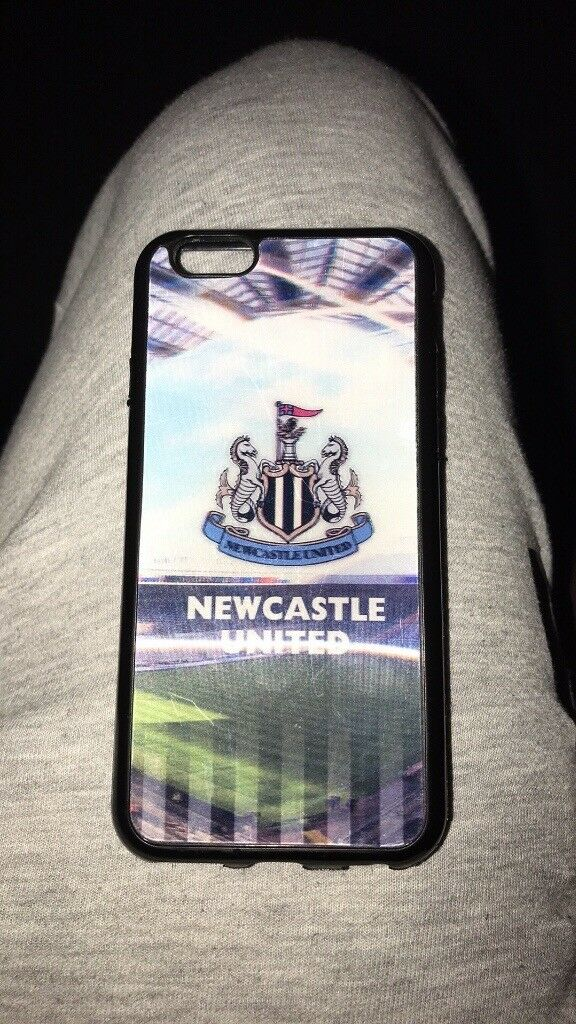 Newcastle United 3D gel case iPhone 6&6s