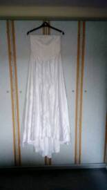 Wedding dress would fit a size 12