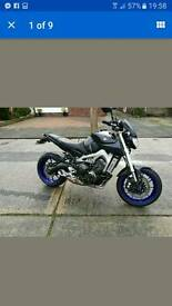 Yamaha MT09 ABS