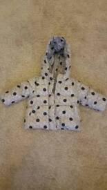 Gap winter coat 12-18months