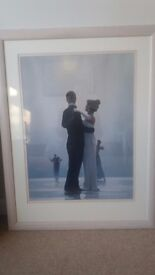 Jack Vettriano framed picture: 'Dance me to the end of Love'