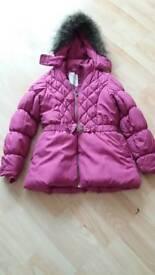 Girls age 8-9 coat