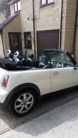 Lovely low millage 2008 Mini Cooper Convertible