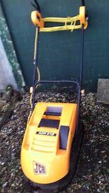 JCB electric mower.