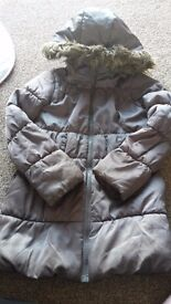 young girls coat 7-9 year old