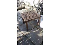 Small garden table
