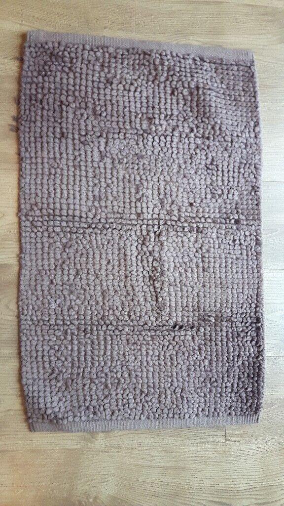 Brown next home bathroom mat