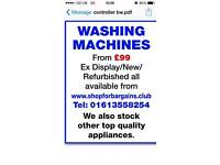 Washing machine fridges freezers cookers dryers dishwashers washing