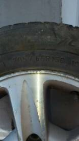 Toyota previa alloy wheels