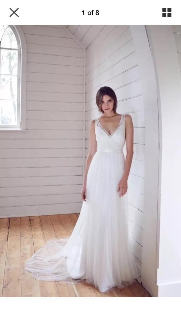 Karen Willis Holmes Wedding Dress Size 12