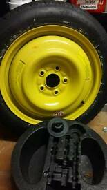 Honda accord space saver spare wheel