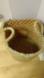 Habitat Macey Seagrass basket with handles