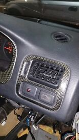 Honda Civic EK Carbon Fibre Interior Trims