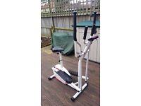 Davina 2 in 1 Cross trainer/exercise bike