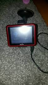 Binatone sat navigation sat nav red £20