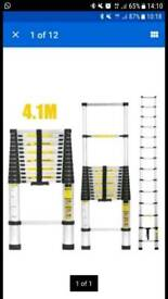 4.1m telescopic ladder