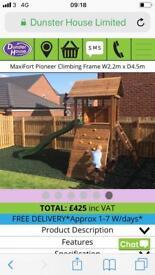 Maxfort pioneer child's climbing frame