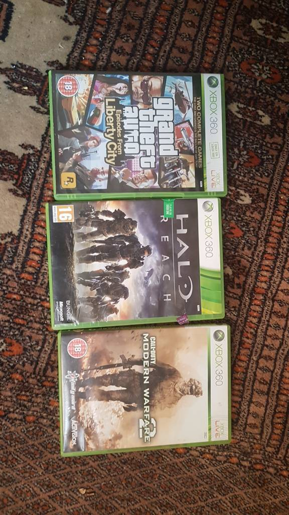 Xbox slim with many games