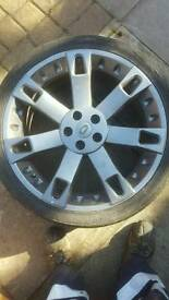 Range rover overfinch alloy wheels 22""