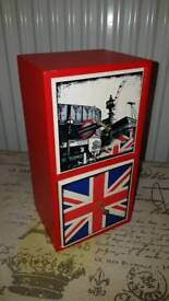 Funky London underground design drawers